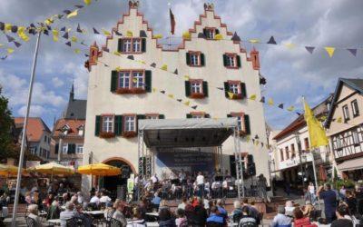 Die Allstars präsentieren Jazz auf dem Oppenheimer Marktplatz