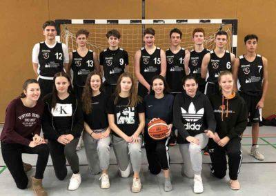 Basketballer*innen des Gymnasiums Oppenheim