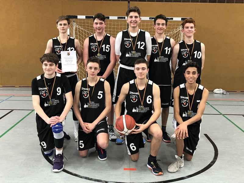 Basketballschulmannschaft erreicht Landesfinale