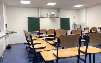 Vorübergehende Schließung der Schule – aktueller Stand