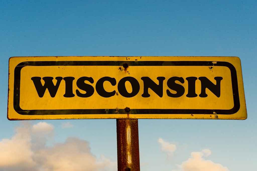 Schild Wisconsin