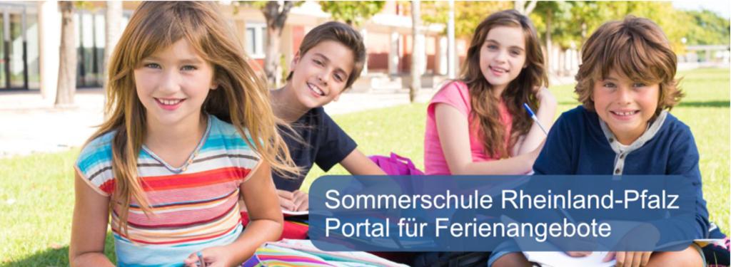 """Informationen zur """"Sommerschule Rheinland-Pfalz"""""""