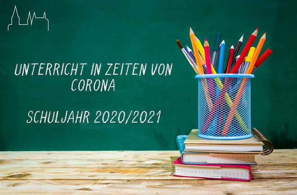 Unterricht in Coronazeiten – Aktuelle Regelungen und Ausblick auf März 2021
