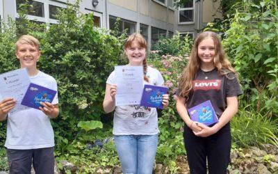 Erfolge beim Landeswettbewerb Physik